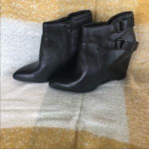 Nine West wedge heeled bootie